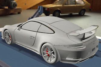 M�g nem is publikus, de m�r ki lehet sz�nezni a friss 911 GT3-ast