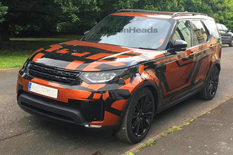 K�mfot�: Land Rover Discovery