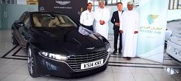 Nem az Aston Martin, hanem a logisztikai partner leplezte le az �j Lagond�t