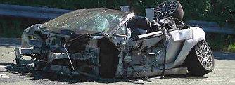 Belehalt egy 18 �ves fiatal a Lamborghini-pr�ba�tba