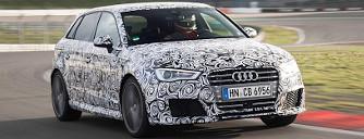 Hivatalos k�mfot�n az �j Audi RS3-as