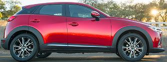 CX-3: Mazda2-felf�jt rendel