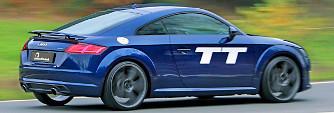 B&B Audi TT: ott tart, ahol az RS befejezte