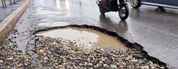 Olaszorsz�gban a rossz infrastrukt�ra a balesetek 60 %-nak kiv�lt� oka