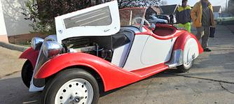 Aut�csod�k a m�ltb�l: Festetics gr�f 1935-�s BMW-je Kaposv�ron