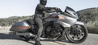 Amerikai t�ra-motorker�kp�r a BMW-t�l