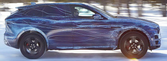 A Jaguar m�rka legfontosabb aut�ja lesz az �j F-Pace