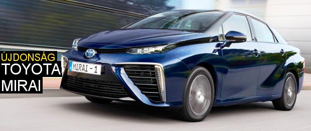 Ut�na a v�z�z�n – Toyota Mirai menetpr�ba