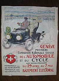 A kiállítást hirdető plakát 1905-ből