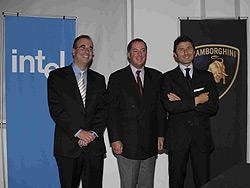 Dario Bucci, az Italia Intel igazgatója,