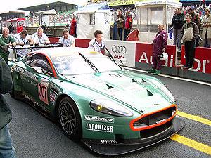 Aston Martin - nem véletlen a 007-es rajtszám