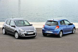 Két karakter: az ötajtós Clio elegánsabb, a háromajtós sportosabb megjelenésű