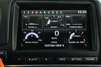 A multifunkciós kijelző grafikáját a Gran Turismo játékprogramért felelős Polyphony Digital készítette