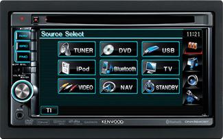 DVD-lejátszás, iPod- és USB-csatlakozó, tévétuner, Bluetooth és még közel sincs vége a sornak…
