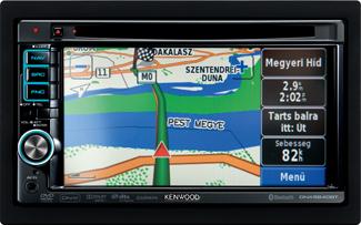 339 000 forintért kapható a legolcsóbb Kenwood navigátor
