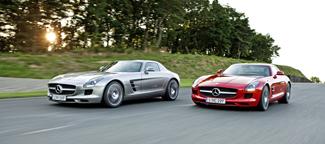 Az SLS AMG a Mercedes első olyan modellje, amit az AMG önállóan fejlesztett ki
