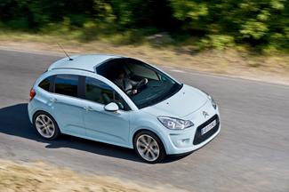 A C3-as orrán már a Citroën új logója díszeleg