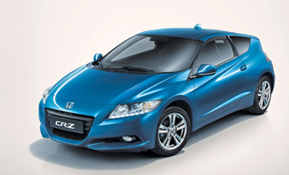 A megfizethető árú hibridek táborát szeretné gyarapítani a Honda az új, 2+2 üléses CR-Z-vel