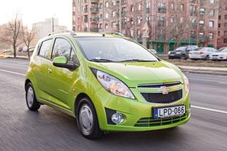 Négy csillagot szerzett a Spark az Euro-NCAP töréstesztjén. Az ESP felára csupán 65 000 forint