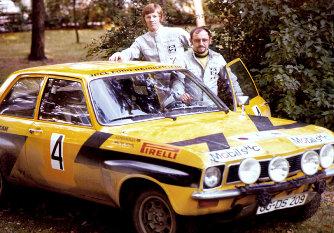 Röhrl és Berger 1974-ben Európa-Bajnokságot nyert az Asconával