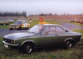Hiába sportkupé a Manta, az Opel a többi autóját hazsnálta versenyzésre