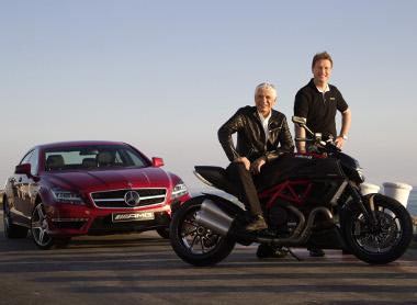 A két cég vezetője a Los Angelesi Autószalonon jelentette be az együttműködést