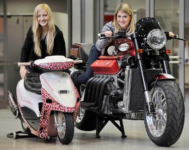 Robogó vagy V12-es motorkerékpár? Minden lehetséges