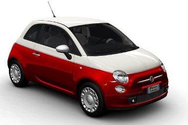 Januártól kapható a kétszínű Fiat 500