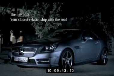 Egy francia nyelvű videó került fel internetre a még be sem mutatott Mercedes SLK-ról