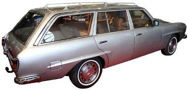 Ilyen lett volna a Mercedes kombi, ha az ötvenes években kezdenek hozzá a fejlesztéséhez...