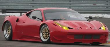 Az FIA GT2-es kategóriájának megfelelő 458-ast fejleszt a Ferrari