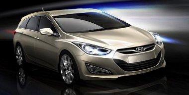 Új orrot kap a középkategóriás Hyundai európai változata, az i40