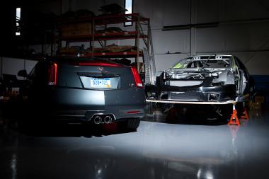 Most még épül, de Detroitban már ott lesz a CTS-V Coupé versenyautó