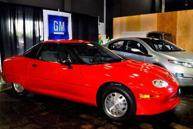 A Volt sokkal közelebb áll a mai autókhoz, mint az 1996-ban piacra dobott GM EV1