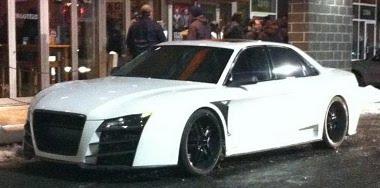 Audi R8 limuzin az elszántaknak