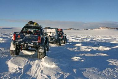 Az Északi Sark után meghódította a Déki sarkot is a Toyota Hilux