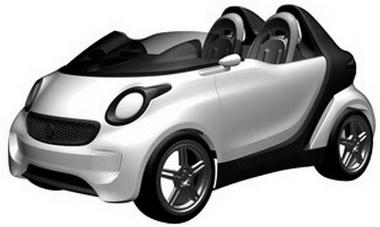 Az új generáció előfutára lenne ez a Smart roadster?