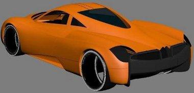 Biturbó AMG V12-es dolgozik majd a kocsi hátuljában