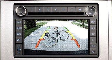 Tolatókamera segít elkerülni a baleseteket