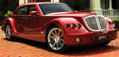Meglepetés Malajziából: karbon karosszériás luxusautó, modern, aktív biztonsági rendszerekkel felszerelve