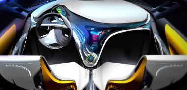 Lendületes a szabadidő-autó belseje, de messze van még a sorozatgyártástól