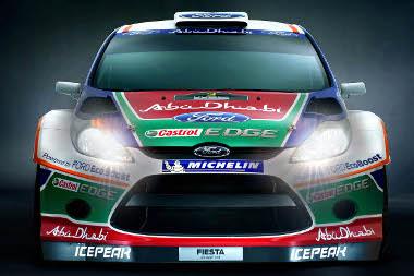 Teljes harci díszben prezentálták a Fiesta WRC-t