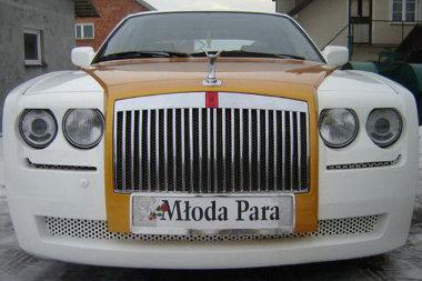 BMW-nek készült, Rolls-Royce utánzatot akartak építeni belőle, ami végül Bentley lett
