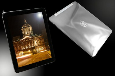 Autó nélkül rongyors 98 millió forintért a miénk lehet a gyémántberakásos, platinaházas iPad
