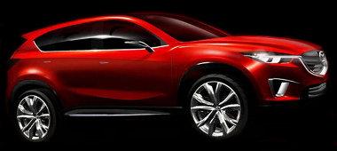 Kompakt szabadidő-autót jelez előre a genfi Mazda Minagi tanulmány