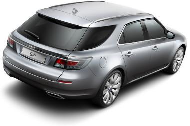 Genfben leleplezik a Saab új óriáskombiját