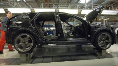 A napi RS3 Sportback termelés ötven százaléka - félkészen