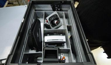 Ennek a doboznak a tartalma teszi RS3-assá az A3 Sportback belsejét