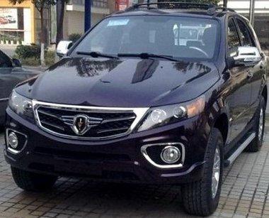 Kia koppintással lép a SUV-ok piacára a kínai Jinbei márka
