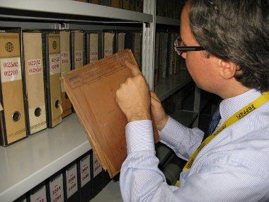 Az archívumban megvan a valaha épített Ferrarik dokumentációja